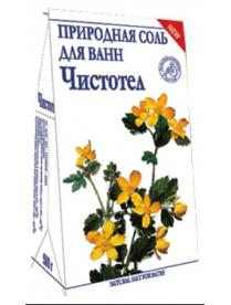 """(74806) """"Чистотел"""" природная соль для ванн 500 г"""