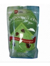 """(74815) 607 Соль с пеной для ванн """"Здоровый сон"""" (хвойный концентрат) SBC (упаковка дой-пак) 900"""