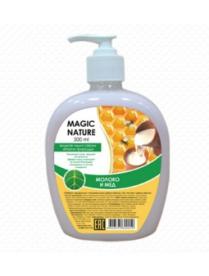 """(74800) 1013 Жидкое мыло Магия природы """"молоко и мед"""" 500 мл"""
