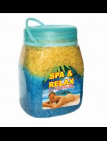 (74819) 252643 Соль природная с пеной для ванн SPA-RELAX 1 кг