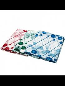 461-074 VETTA Шторка для ванной, ПЕВА, 180х180см, 3 цвета