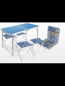 Набор ССТ-К2: стол (пластик) и 4 стула ССТ-К2
