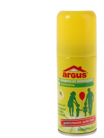 ARGUS Аэрозоль от комаров, мошек, слепней 100мл (на кожу)