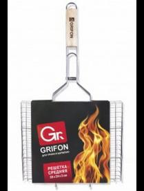 (61801) 600-002 Решётка Средняя Grifon 36х24х3см сталь 2мм