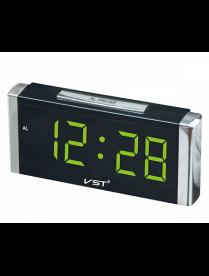 VST731-4 часы зелёные цифры
