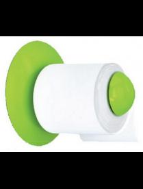 """Держатель для туалетной бумаги """"Aqua""""(салатный) АС22838"""