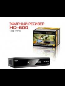 Эфир DVB-T2 HD HD-600RU