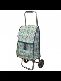 """093543 Тележка с сумкой D203 """"Клетка"""", 30 кг"""