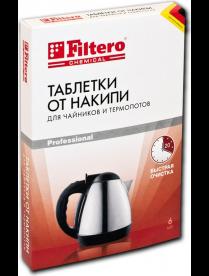 Filtero Таблетки от накипи д/чайников 6шт, Арт.604