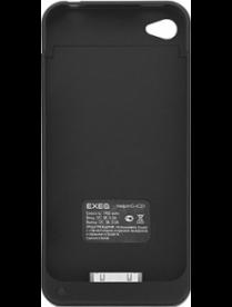 Аккумулятор-крышка для iPhone 4/4S (1900mAh). черн.12922711