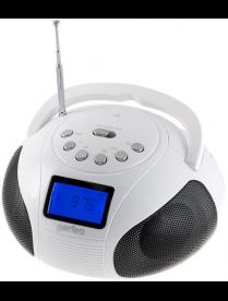 Perfeo BOOMBOX Bluetooth, FM, MP3 USB/SD, PF-BOOM210-WT