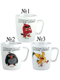(79032) Кружка 350мл конус Angry Birds 07594