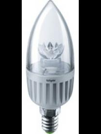 Navigator 71 853 NLL-C37-7-230-4K-E14-CL светодиодная