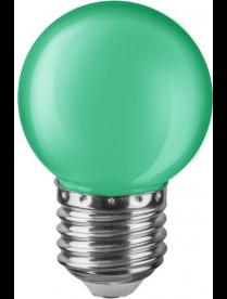Navigator 71 828 NLL-G45-1-230-G-E27 (стекло матовое зеленое) светодиодная