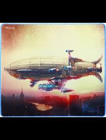 Коврик для мыши Dragon War Moscow Zeppelin 20967