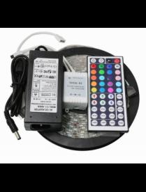 Набор LED лента RGB Огонёк LD-53A (5м-5050,IP65,блок,пульт)