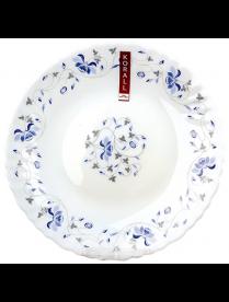 LHP75-1059 Тарелка плоская 19см 1059 синяя вуаль