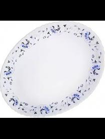 LHYP140/2-1059 Блюдо овальное 35см 1059 синяя вуаль LHYP140/2-1059