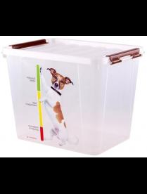Контейнер для корма животных 25л С50902