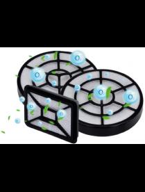 Набор фильтров для пылесосов Centek CT-2524 в коробке: 1HEPA + 2 внутренних фильтра