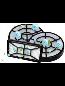 Набор фильтров для пылесосов Centek CT-2529 в коробке: 1HEPA + 2 внутренних фильтра