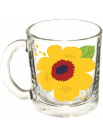 """(80285) 1208/1LTFLOW Кружка """"Яркие цветы"""" серия """"Чайная"""" 300 мл"""