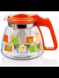 (81995) 17909 Заварочный чайник 900 мл., жаропрочное стекло, метал. фильтр