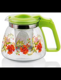 (81994) 17907 Заварочный чайник 900 мл., жаропрочное стекло, метал. фильтр