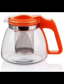 (81993) 17905 Заварочный чайник 900 мл., жаропрочное стекло, метал. фильтр