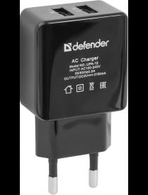 DEFENDER UPA-12 2 порта USB 83531
