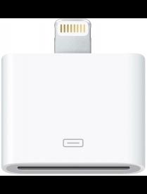 18-0176 Переходник для iPhone 5 c 8 pin на 30 pin белый