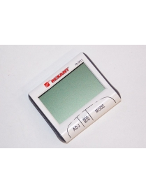 70-0511 Термогигрометр комнатный с часами и функцией будильника REXANT