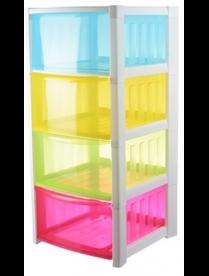 (79435) М2794 Комод Радуга (4секции) разноцветный