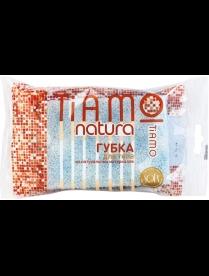"(82554) 7709 Губка для тела Tiamo Natura ""Оригинал"" целлюлоза+массаж"