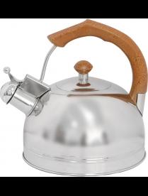 900062 Чайник из нерж. стали DJB-3293 (3,0 литра, со свистком, капсульное дно)