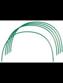 (75115) Дуги парниковые 2м металл. в ПВХ (6шт в комплекте)