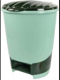 (49711) М1379 Ведро для мусора с педалью 10л