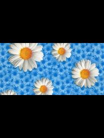 (82990) 310/7 Клеенка ПЕРМСКАЯ тк/о 130см*25м ромашки гол