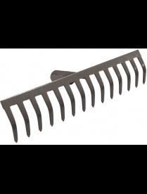 (61747) Грабли 14-ти зубые прямые эмаль 3мм с/ч ГП-14