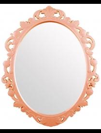 "(83022) М4519 Зеркало в рамке ""Ажур"" (585х470мм)(беж.)"