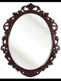 """(83023) М4520 Зеркало в рамке """"Ажур"""" (585х470мм)(тём.корич)"""
