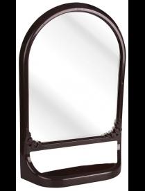 (83025) М4517 Зеркало с полкой (тём.корич.)