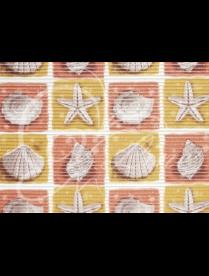 (83636) 4BG Коврик мерный ПВХ 0,8х15м (Ракушки)