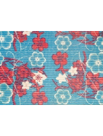(83635) Коврик мерный ПВХ 0,80х15м 3R (Цветы)
