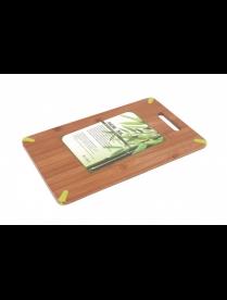 Доска разделочная 36*22*0,8 см. бамбук 897-003