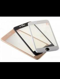 Perfeo защитное стекло Apple iPhone 6+/6S+ белый 0.26мм 3D с силиконовыми краями (0025)