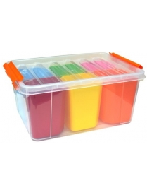 (84784) С50803 Ящик для игрушек Профи Kids 15л