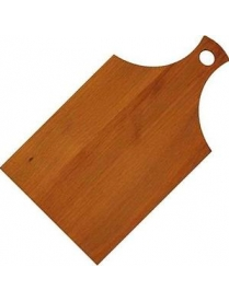 (84909) КТ-ДР-100 Доска раздел. бамбук 330*180*12мм №1 с ручк.