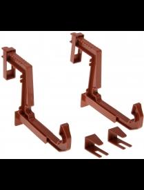 (75870) М3229 Крепление для балконных ящиков универсальное (2шт.) Терракотовый