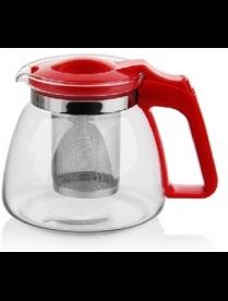(84992) 17902 Заварочный чайник 900 мл., жаропрочное стекло, метал. фильтр